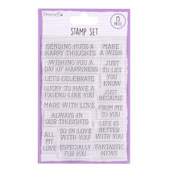 Dovecraft General Sentiment Stamps