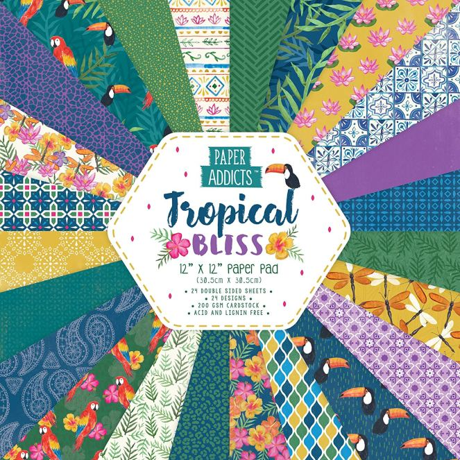 Paper Addicts Tropical Bliss Pack