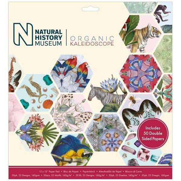 Natural History Museum Organic Kaleidoscope Papers