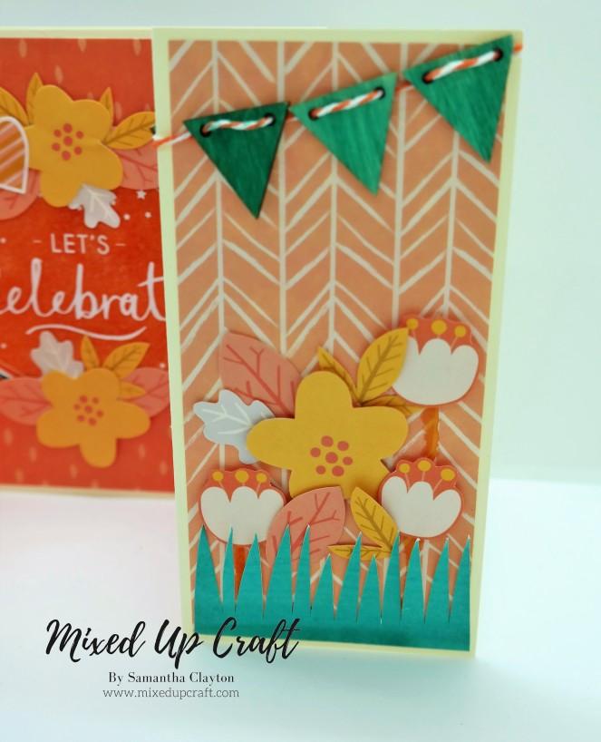 Double Gatefold Card