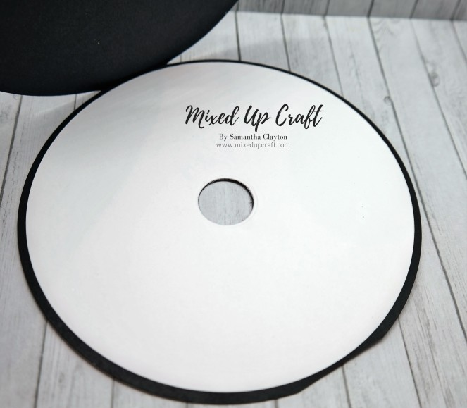 Vinyl Record or CD Card