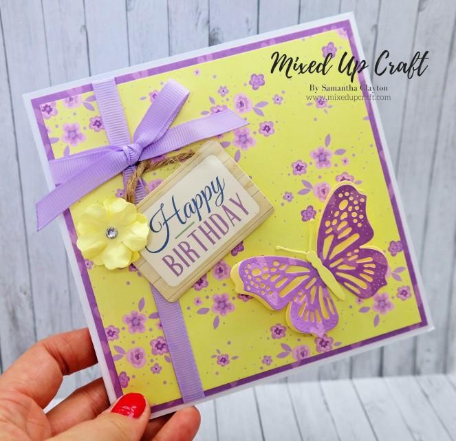 Pretty Pop-Up Butterfly Card